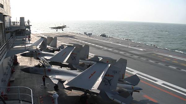有关方面活动影响不了辽宁舰编队的航行和训练