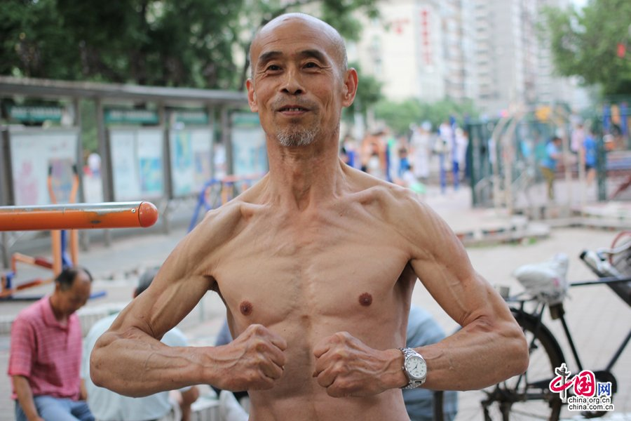 The 65-year-old muscle man - Everyday life - Chinadaily Forum