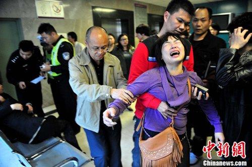 深圳发生大巴失控撞人事故 致5人遇难