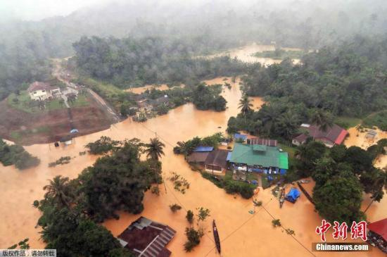 马来西亚21水坝水位急速上升 或将加剧水灾