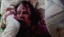 利比亚统治者卡扎菲上校被捕身亡