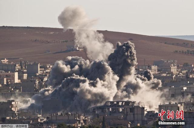 俄国防部:美国联军在伊拉克假装打击IS