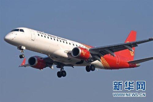 伊春失事客机为E190喷气支线客机(图)