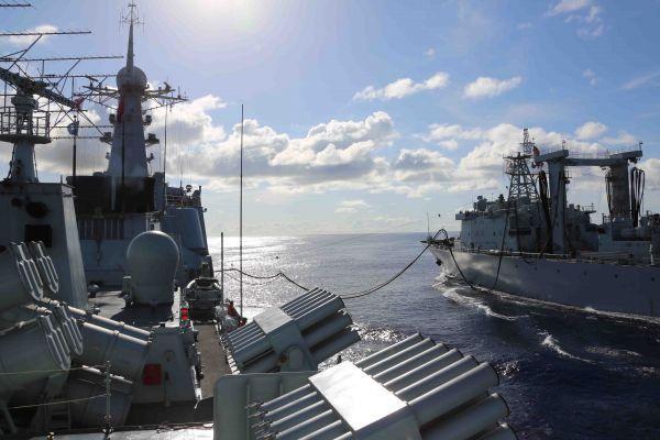 解放军印度洋实弹演练引关注 印媒:又一强硬信号