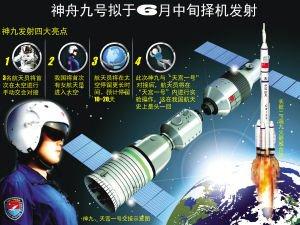 专家称神九16日下午发射 将搭载首位女宇航员