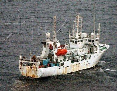 中国调查船巡航钓鱼岛海域 日出动飞机警告(图)