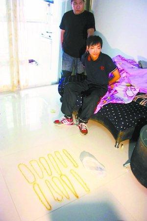 北京男子持斧抢劫金项链15条获刑12年