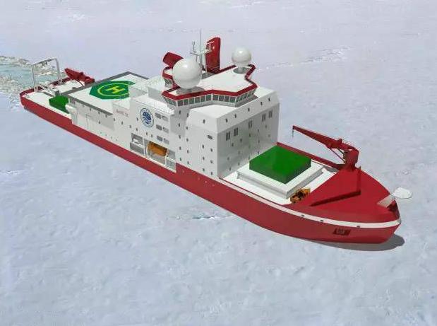 首次自主建造:中国新一代极地科考破冰船开工