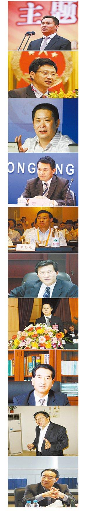 不雅视频撂倒重庆10高官 有人本有远大政治前途