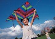 2006年,莲花山上放飞希望的小姑娘