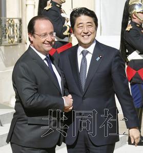 日法举行首脑会谈 将启动防卫装备研发谈判(图)