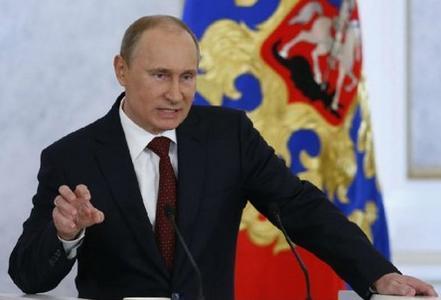 俄总统普京5月20日访华 与中俄联合军演同期