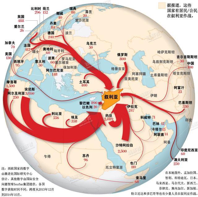 300余名中国恐怖嫌犯经东南亚参加IS极端组织