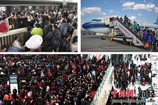 """春运大幕今开启28亿人次""""大迁徙""""日均7000万"""