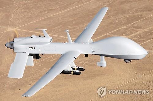 """韩媒:驻韩美军部署""""灰鹰""""无人机"""