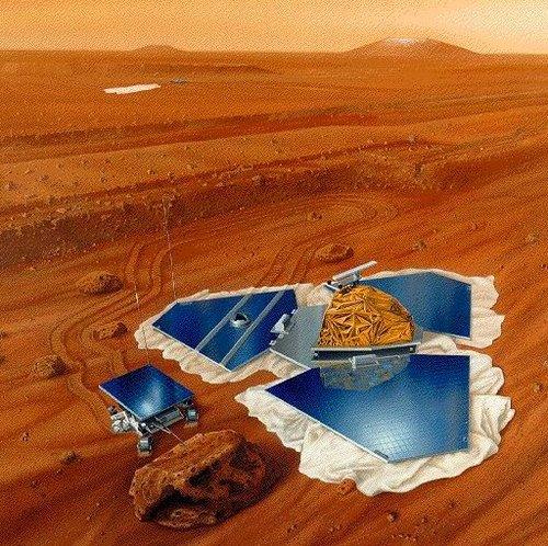资料:人类对火星的探测(图)