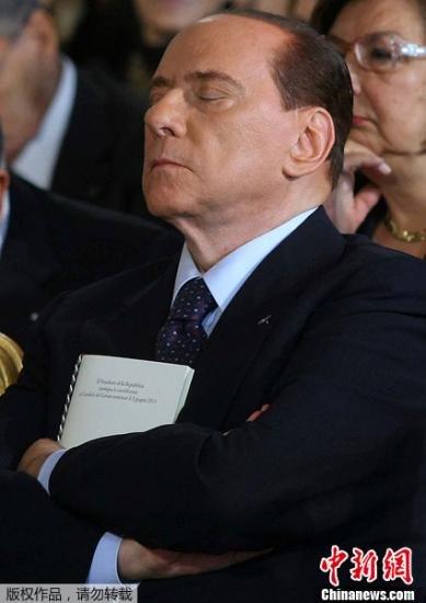 贝卢斯科尼称本月底前辞职 不会参加下次大选