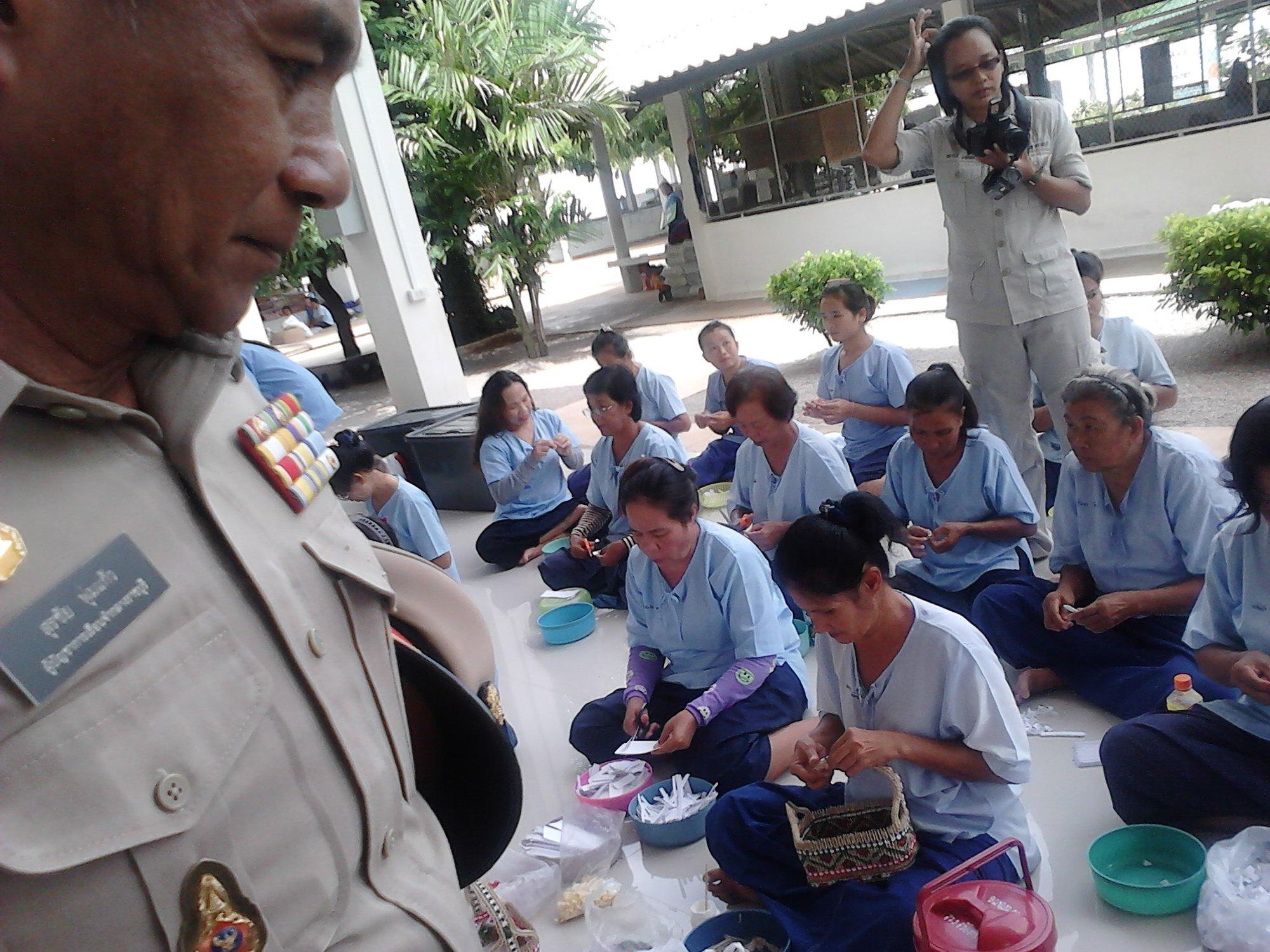 """泰国的女子监狱""""戏剧工作坊""""正在开展活动"""