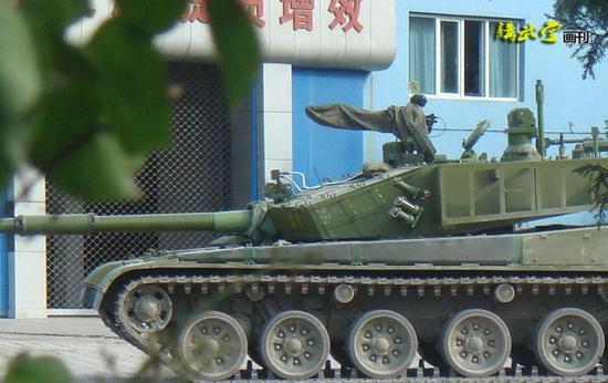 跃居世界一流的99大改坦克