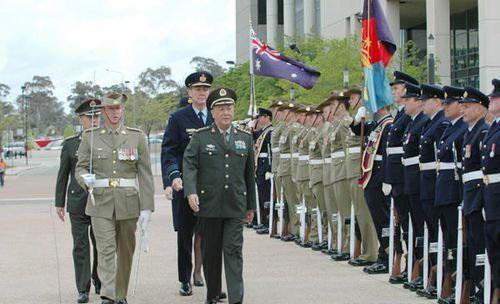 澳大利亚外长:不应对中国军事强大感到忧虑