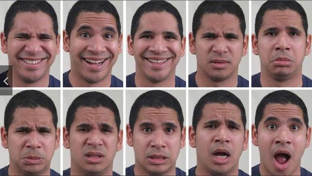 解说人21种表情代表什么图片