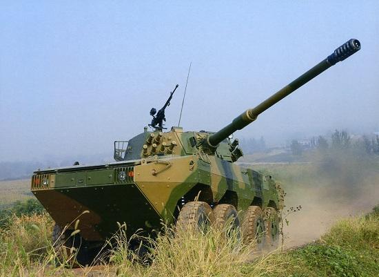 庞大的8X8装甲车族:陆军风火轮