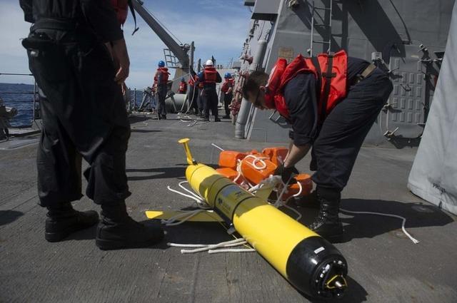国防部回应缴获美军潜航器事件:就8个字