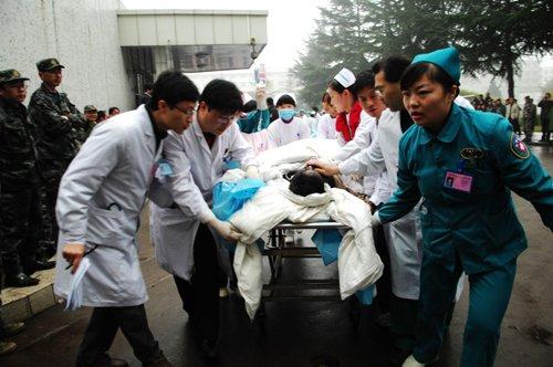 河南义马矿难52名被困矿工全部成功升井