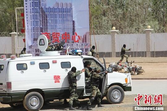 新疆建设兵团第三师打掉多个涉恐涉暴团伙