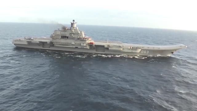 俄媒:俄唯一航母2018年将大修 作战单元或只留船体