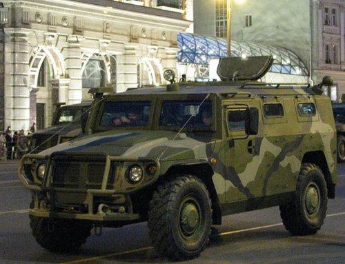 俄罗斯有望恢复对中国出口虎式装甲汽车(图)