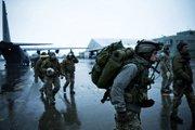 美军特战运输机降落仙台机场