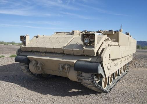 美军将推出新型装甲车:用来与中俄打大国和平