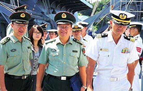 日本方面宣布废除中日校官级军官交流项目