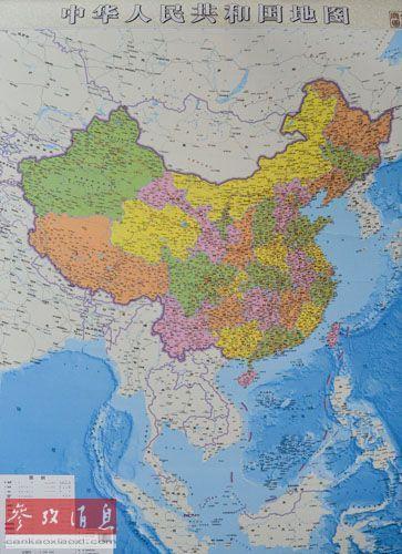 东亚政区图手绘