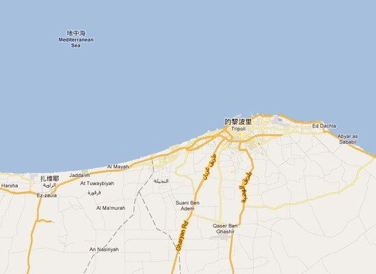利比亚反对派称已占领的黎波里近郊城镇扎维耶