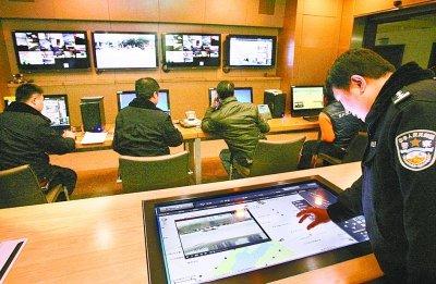 武汉装25万个监控探头守护全城 清晰度堪比电视