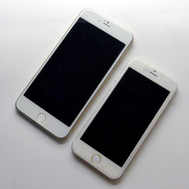 ...有消息称苹果公司于今年5月开始生产4.7英寸和5.5英寸两种不...