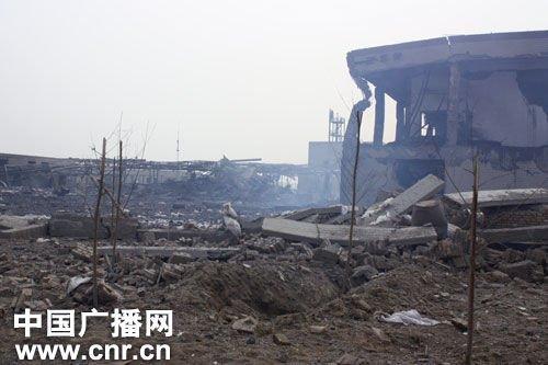 河北赵县化工厂爆炸致13死 厂区工人已全部疏散