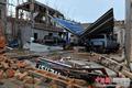 海南文昌台风过后损失惨重 民房化为一堆瓦砾