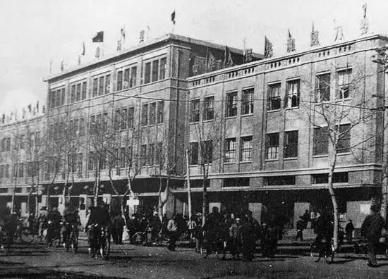 1970年代,唐山新市区百货商店