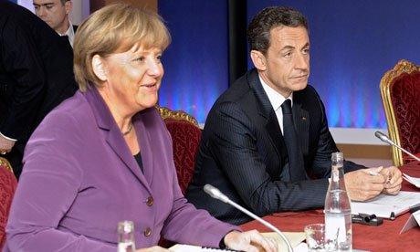 G20峰会上德法元首一致表示救欧元比救希腊要紧
