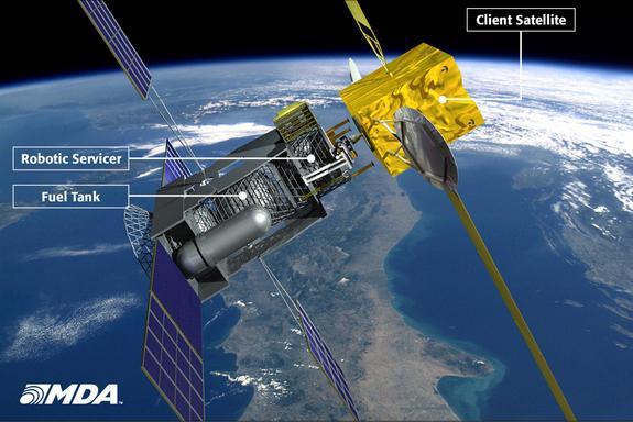 中国开发全自由度太空机器人:模拟轨道加油