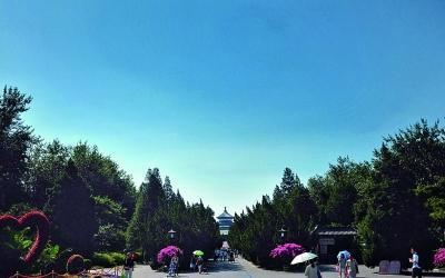 北京PM2.5连续8天一级优 创自监测以来佳纪录