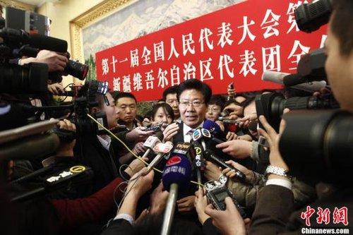 张春贤:对暴力恐怖分子不能施仁政