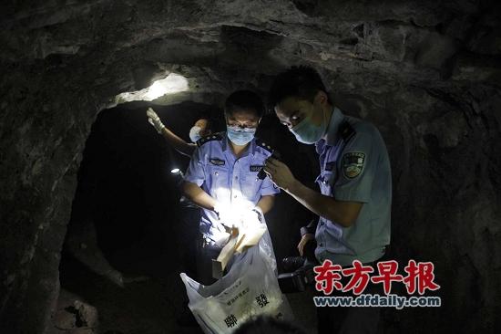 警方发现一处疑为周克华藏匿过的山洞
