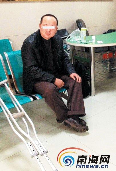 安徽一残疾男半年吃遍50救助站被列黑名单