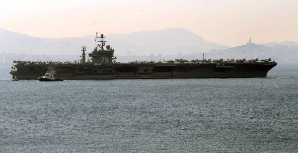 美媒:美海军高官称25年来首次面临大国海上竞争