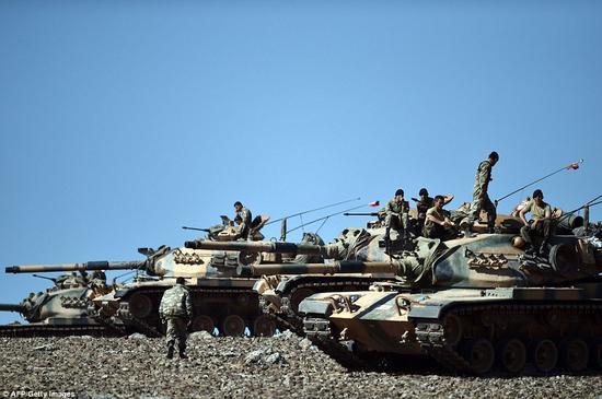 """土耳其""""硬要""""参与摩苏尔决战:或爆发地区战争"""