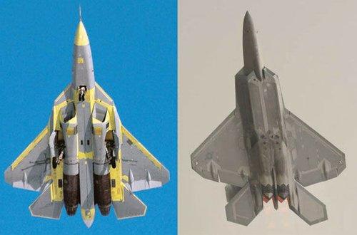 苏霍伊称T-50雷达截面仅0.5平米 仅为苏30的1/40